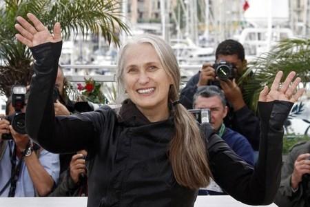 Jane Campion en el festival de Cannes