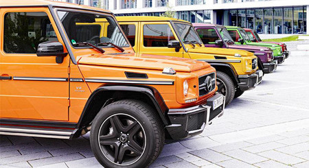 Mercedes Benz G AMG Crazy Color