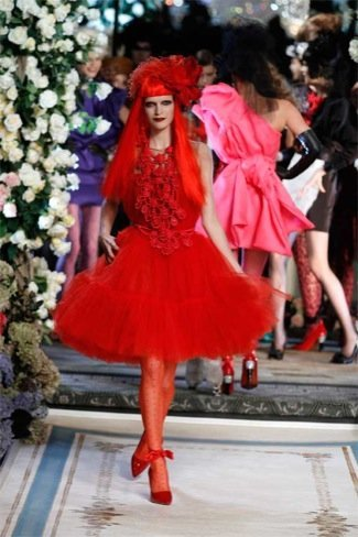 Lanvin HM, colección Alta Costura, vestido tul