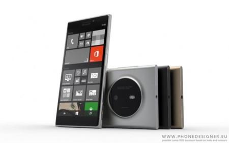 Así podría ser el Microsoft Lumia 1030