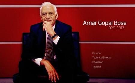 Adiós Dr. Bose, fallece Amar G. Bose