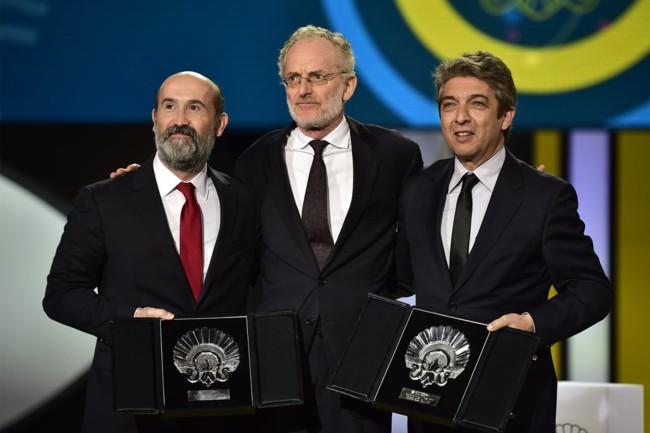 Richardo Darin y Javier Camara comparten el premio al mejor actor