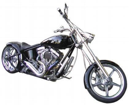 Ben Affleck Custom Chopper