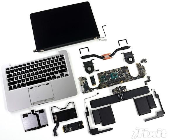 macbook pro retina 13 pulgadas ifixit desmontado
