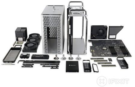 iFixit desmonta el nuevo Mac Pro y le otorga una nota casi perfecta por poder repararse fácilmente