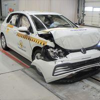 Volkswagen Golf 8 se lleva a casa 5 estrellas en las pruebas de Euro NCAP