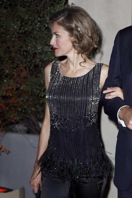 Princesa Letizia con falso Bob
