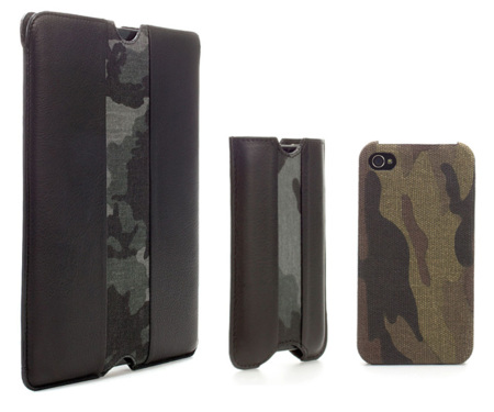 Fundas de camuflaje para iPhone y tablet en Zara