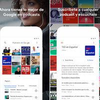 Podcasts de Google llega a la Play Store: así es la nueva interfaz de su aplicación de podcasts