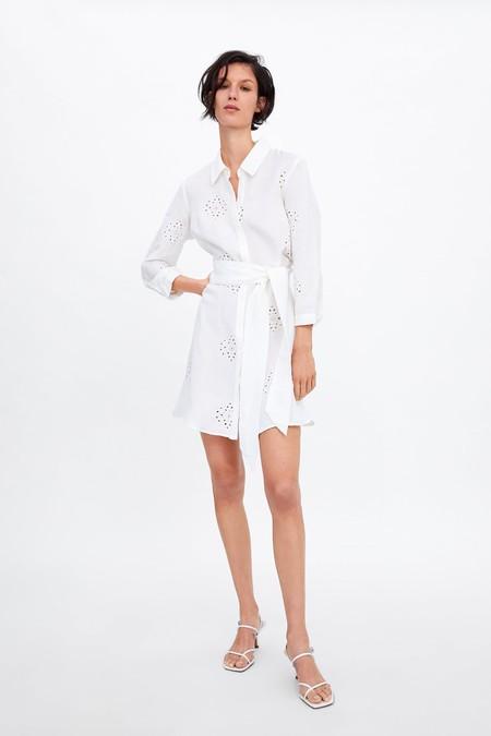 Zara Vestidos Primavera 2019 12