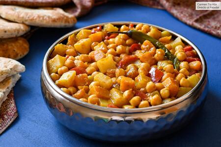 Currygarbanzos