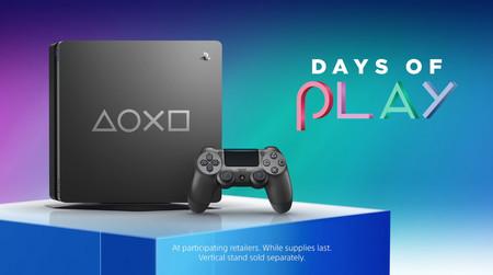 Sony presenta un nuevo modelo de PS4 Slim metalizada con motivo de los Days of Play
