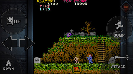 Ghosts 'N Goblins: el clásico de Capcom llega a Android, ya disponible para descargar