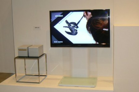 Televisor delgado WHDI de Mitsubishi