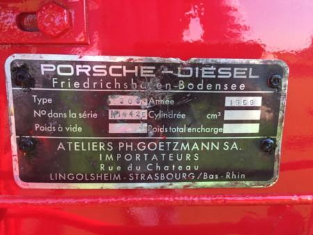 Tractor Porsche 1959 7