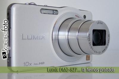 Panasonic Lumix DMC-SZ7, la hemos probado