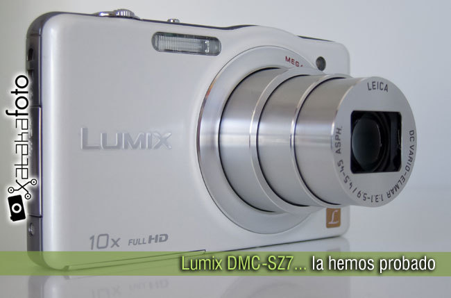 Panasonic Lumix DMC-SZ7 prueba