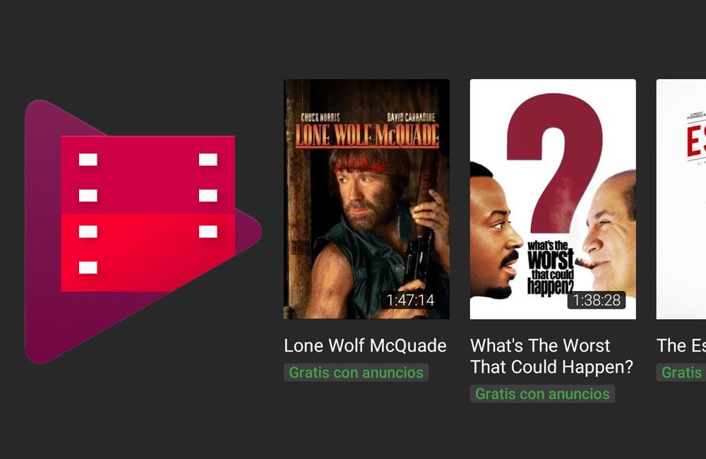 Google Play Movies dará peli gratis con anuncios