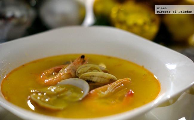 Sopa De Marisco Receta De Cocina Elaborada Y Deliciosa