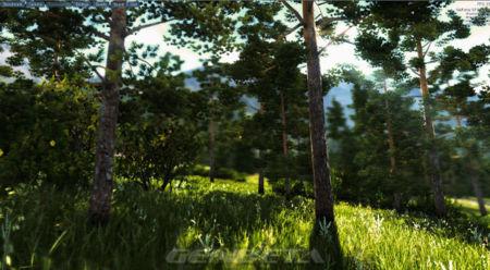 Unigine Valley bosque diurno
