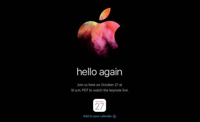 Apple Keynote℗ Hello Again
