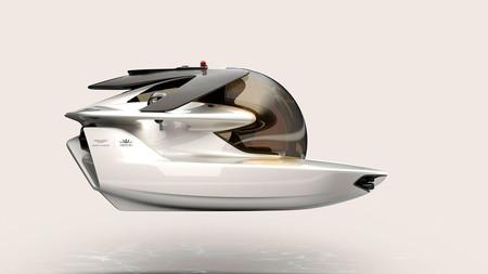 El Aston Martin más lento del mundo: 9,2 km/h para el anfibio Proyecto Neptuno