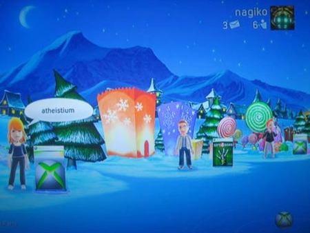 Nuevo tema navideño gratuito para NXE
