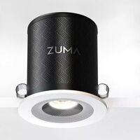 Esta lámpara LED empotrable es también un altavoz inalámbrico de 75 vatios compatible con Alexa
