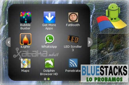 Probamos BlueStacks, el programa para ejecutar aplicaciones Android en Windows