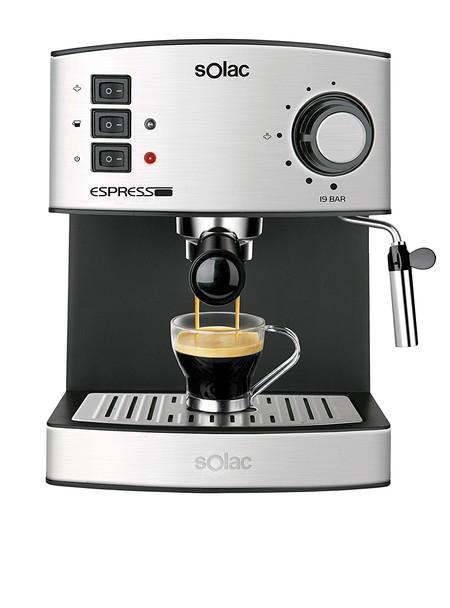 Por 58,99 euros tenemos esta cafetera Solac CE4480 Espresso de 19 bares de presión en Amazon