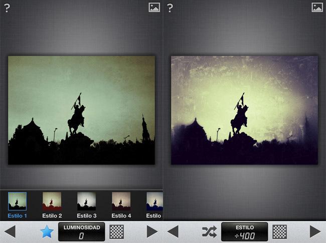 snapseed filtros creativos