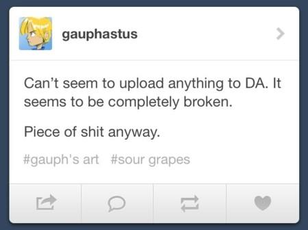 deviantart queja tumblr