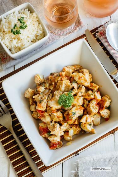 Pollo marinado al comino: receta fácil