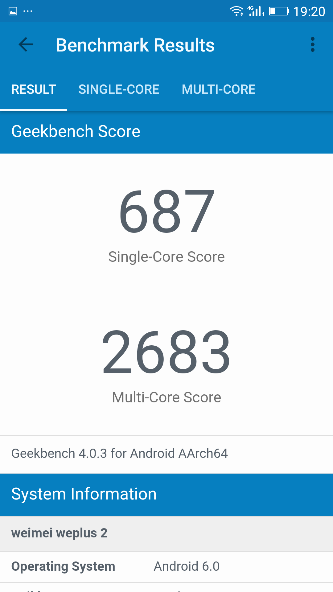 Foto de Weimei WePlus 2, benchmarks (11/14)