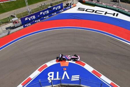 Stroll Rusia F1 2020 2