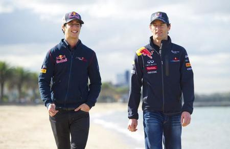 """Daniel Ricciardo: """"por lo que sé, el equipo Red Bull está muy interesado en la igualdad"""""""