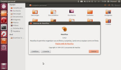 El futuro de Nautilus comprometido en Ubuntu