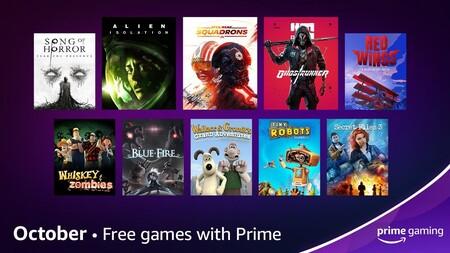 Juegos gratis de Amazon México en octubre