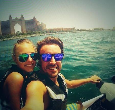 Fernando Alonso y Dasha Kapustina repiten lujosas vacaciones en Dubái