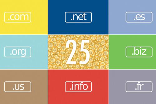 Los 25 dominios más caros de la historia