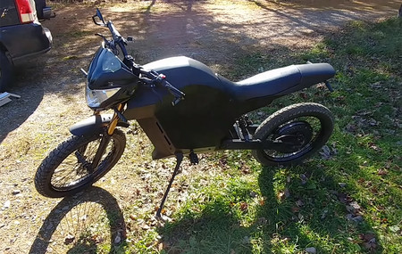 Moto Electrica Casera James Bigger 2020 Video 2