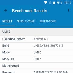 Foto 12 de 13 de la galería benchmarks-umi-z en Xataka Android