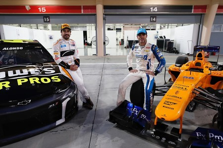 Fernando Alonso F1 Nascar