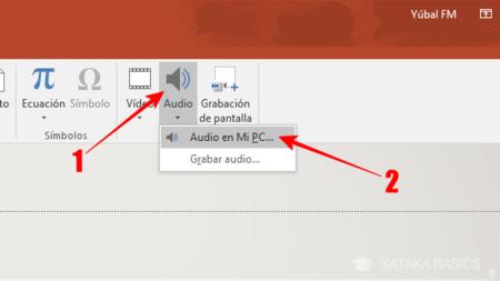 Elige La Opcion Audio En Mi Pc