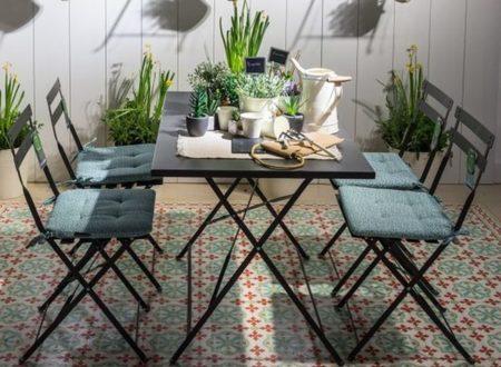 7 muebles y complementos imprescindibles para una terraza for Terrazas pequenas ikea