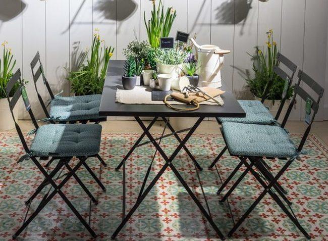7 muebles y complementos imprescindibles para una terraza - Muebles para terraza pequena ...