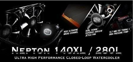 Cooler Master extiende la garantía de los sistemas Nepton 140XL y Nepton 280L a 5 años