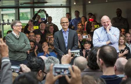 Los tres CEOs