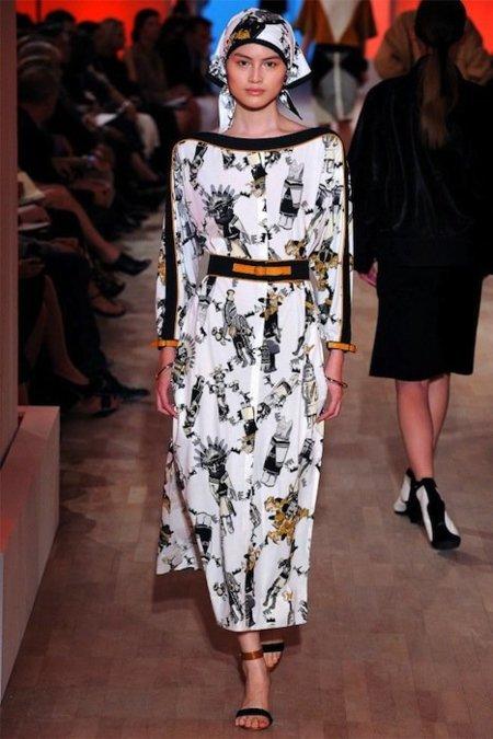 Hermès Primavera-Verano 2012: una campesina deluxe