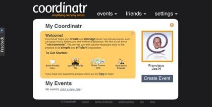 Coordinatr, coordinar eventos a través de la web nunca fue tan sencillo
